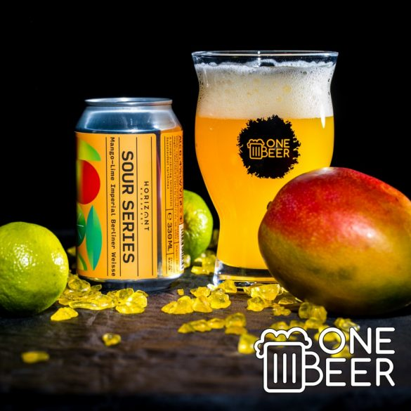 Horizont 009 Sour Series Imperial Berliner Weisse with Mango & Lime 0,33l