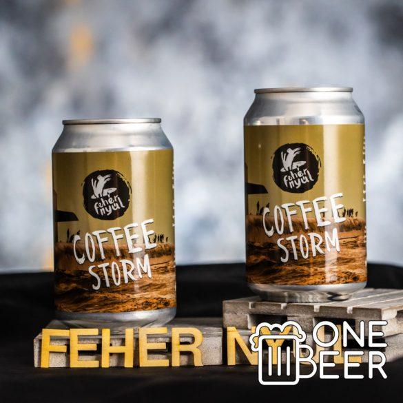 Fehér Nyúl Coffee Storm 0,33l
