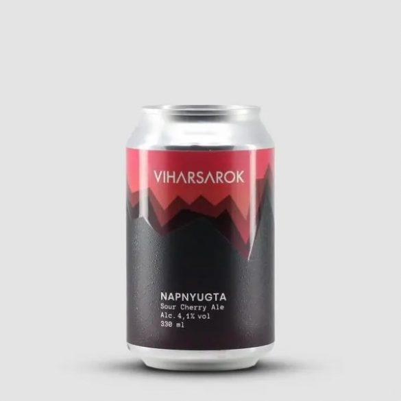 Viharsarok Napnyugta Sour Cherry Ale 0,33l