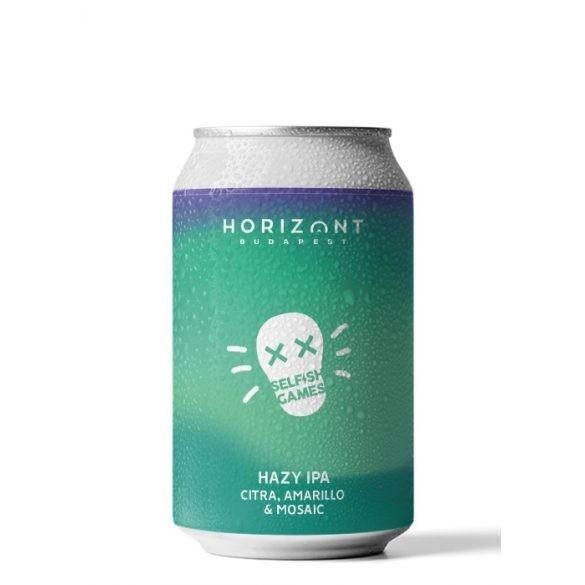 Horizont Selfish Games Hazy IPA 0,33l