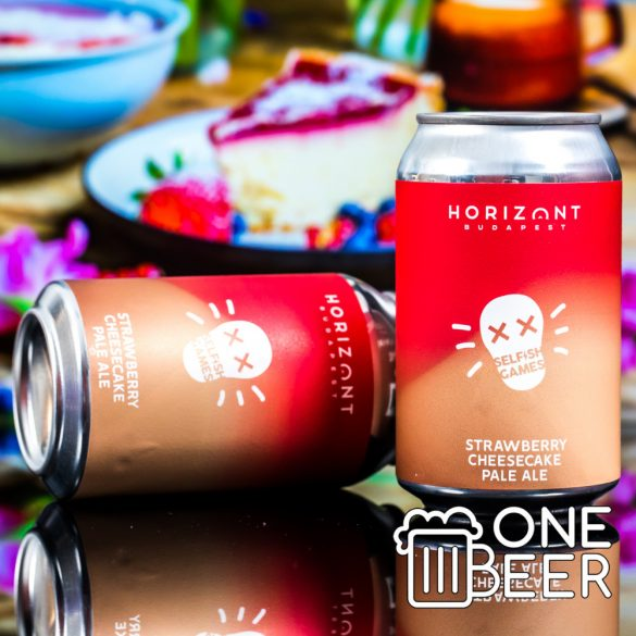 Horizont Selfish Games - Strawberry Cheesecake Pale Ale 0,33l