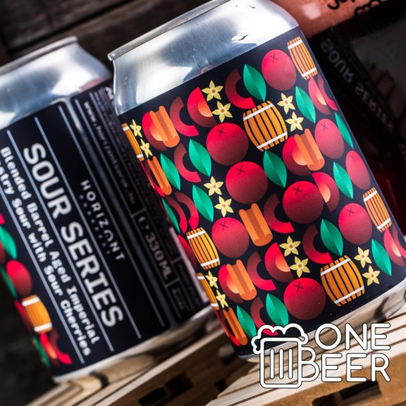 Horizont - Sour Series - Blended BA Imperial Pastry Sour Ale with Sour Cherries 0,33l