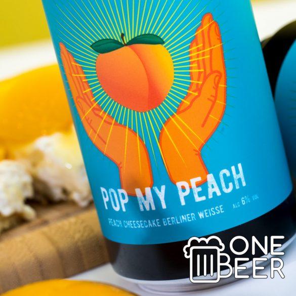Reketye Pop My Peach 0,44l
