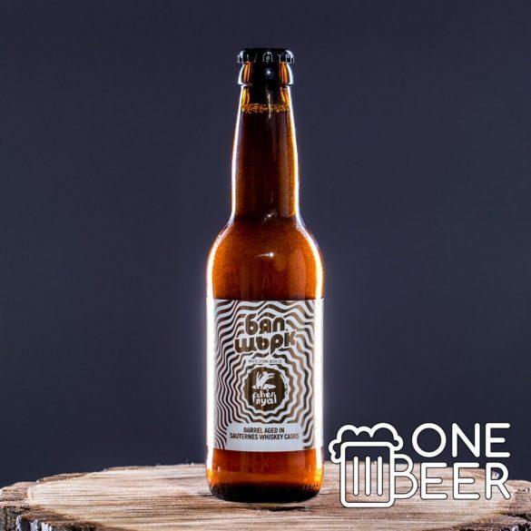 Fehér Nyúl Sauternes Whiskey BA White Stout 0,33l