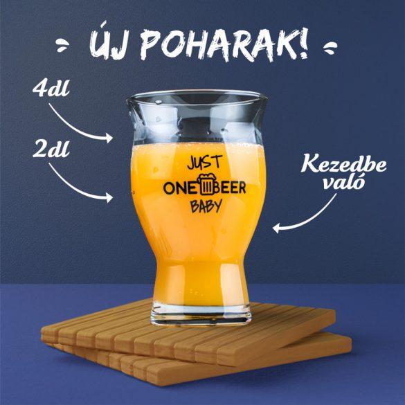 One Beer Pohár 0,4l
