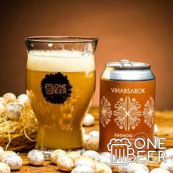 Viharsarok & One Beer Tojáslikőr 0,33l