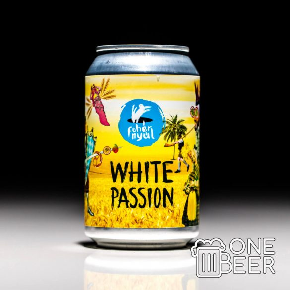 Fehér Nyúl White Passion 0,33l