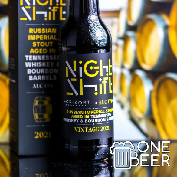 Horizont Night Shift Bourbon Barrel Aged Russian Imperial Stout 0,33l