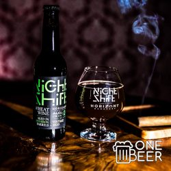 Horizont Night Shift Bourbon Barrel Aged Wheat Wine 0,33l