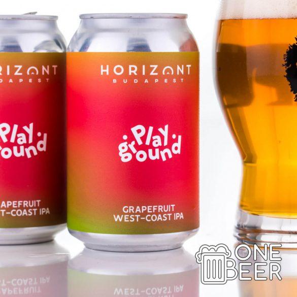 Horizont Playground - Grapefruit West-Coast IPA 0,33l