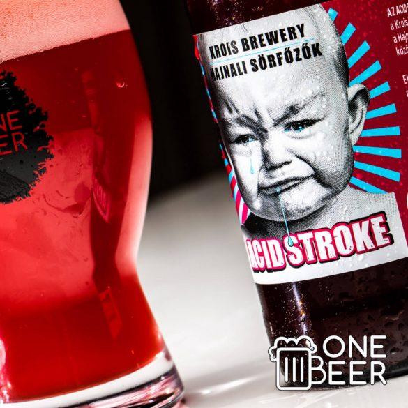 Krois Brewery & Hajnali Sörfőzők Acid Stroke 0,33l