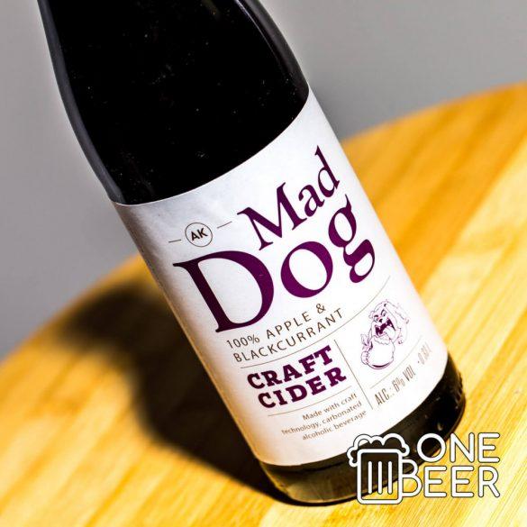 MadDog Cider (Feketeribizli) 0,33l
