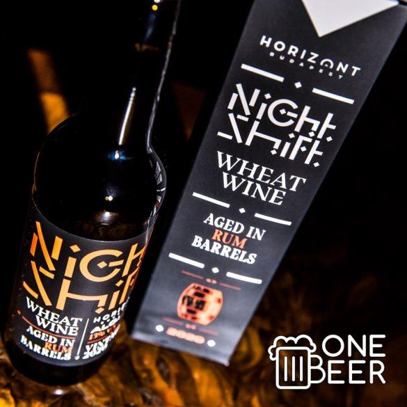 Horizont Night Shift Rum Barrel Aged Wheat Wine 0,33l