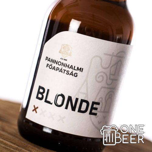 Pannonhalmi Apátsági Blonde 0,33l