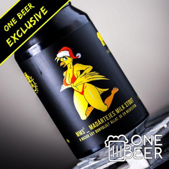 Reketye & One Beer MMS (Madártejes Milk Stout) Santa Edition 0,33l