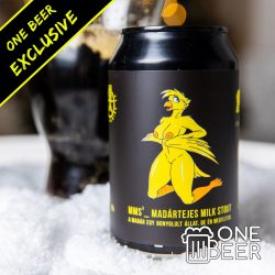 Reketye & One Beer MMS (Madártejes Milk Stout) 0,33l