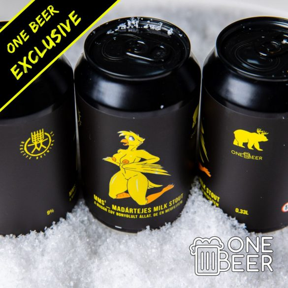 Reketye & One Beer MMS (Madártejes Milk Stout) 0,33l
