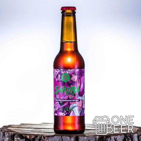 Vandál Sakura (Cseresznyés Meggyes Ale) 0,33l